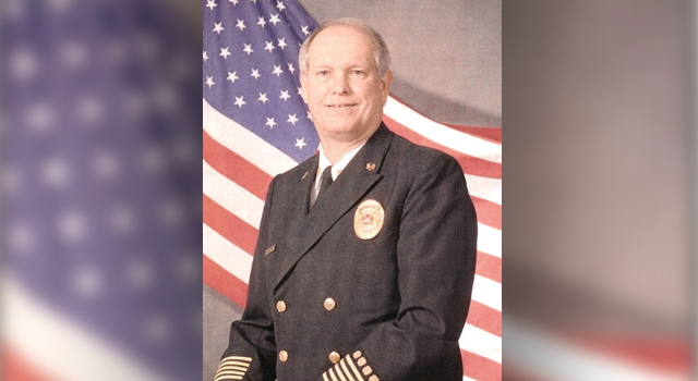 Ron Gentry becomes the first paid employee of the Allen Fire Department as the part-time fire chief.